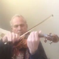 Hans-Christian Blumenberg, Violine