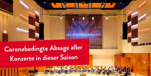 Theater Duisburg und Duisburger Philharmoniker sagen Programm bis Ende der Saison ab