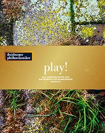 play! Das Jahresprogramm der Duisburger Philharmoniker 2020/2021