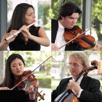 Das Flötenquartett A-Dur KV 298 von Wolfgang Amadeus Mozart, gespielt von Alba Luna Sanz und dem SONOS Trio