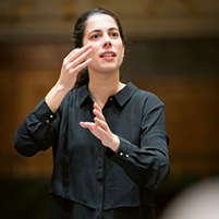 Marie Jacquot · Dirigentin