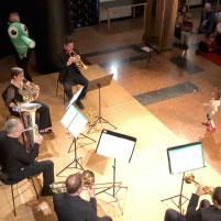 Probiers mal mit Gemütlichkeit - gespielt von Mitgliedern der Duisburger Philharmoniker