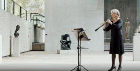 Unsere Oboengruppe im Lehmbruck Museum