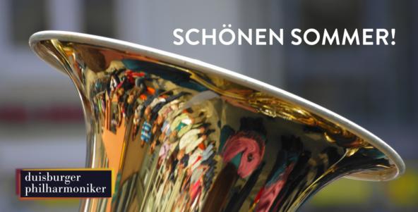 Die Philharmonischen Blasmusiker verabschieden uns in den Sommer!