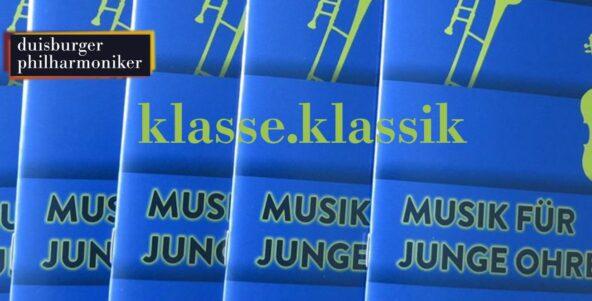 klasse.klassik: Die neue Spielzeitbroschüre MUSIK FÜR JUNGE OHREN 2020/21 ist da!