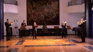 """Jingle Bells"" für Posaunen"