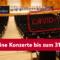 Alle Konzerte bis zum 31.01.21 abgesagt