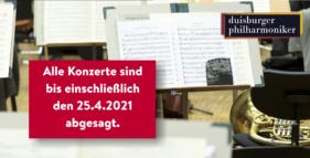 Alle Konzerte sind bis einschließlich den 25.4.2021 abgesagt