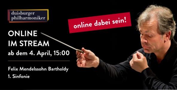 Ostern online im Stream: Mendelssohn Bartholdys 1. Sinfonie!
