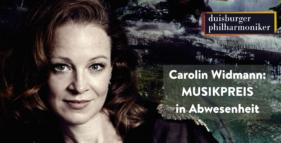 Carolin Widmann erhält den Musikpreis 2020 in Abwesenheit