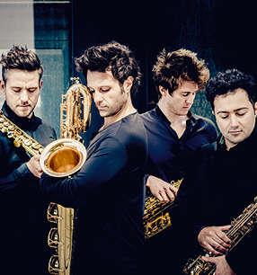 SIGNUM Saxophone Quartet · Foto: Andrej Grilc