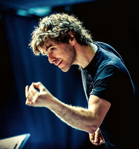 Benjamin Shwartz Dirigent · Foto: Nurit Mozes