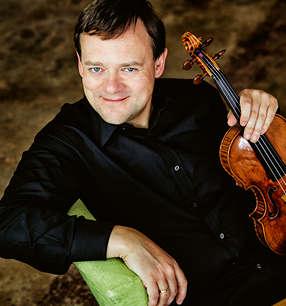 Frank Peter Zimmermann Violine · Foto: Harald Hoffmann/Hänssler Classical