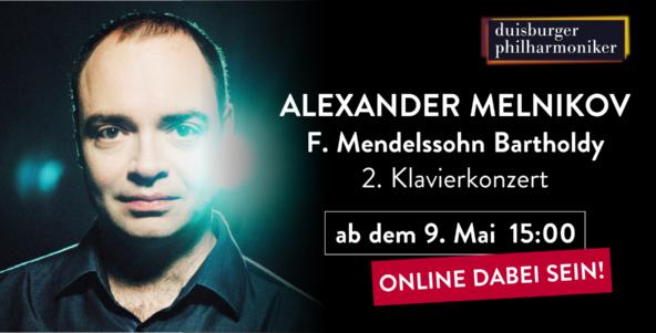 Alexander Melnikov und Mendelssohns Klavierkonzert Nr. 2
