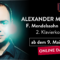 Heute im Stream: Alexander Melnikov und Mendelssohns Klavierkonzert Nr. 2