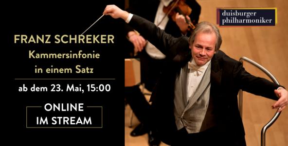 Ab 23. Mai: Franz Schrekers Kammersinfonie in einem Satz
