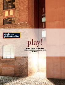 play! Das Jahresprogramm der Duisburger Philharmoniker 2021/2022