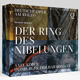 CD-Cover: Der Ring am Rhein · Duisburger Philharmoniker unter Axel Kober