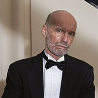 Till Engel, Klavier · Foto: Wolfgang Kleber