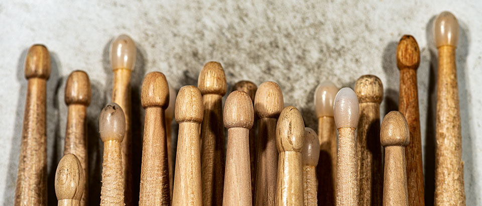 Trommelstöcke · Foto: Alberto Masnovo, iStockPhoto