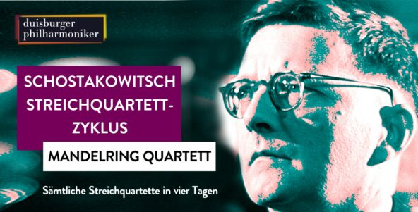 Im November: Schostakowitsch Streichquartett-Zyklus