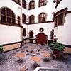 Franz Haniel Hof im Innenhof des Duisburger Rathauses