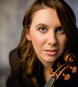 Chloe Hanslip Violine Foto: Benjamin Ealovega
